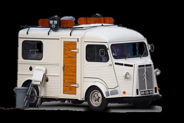 Food Truck Van Vintage Old Car  - dendoktoor / Pixabay
